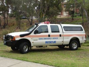 State Emergency Service truck